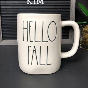 NEW RAE DUNN HELLO FALL mug